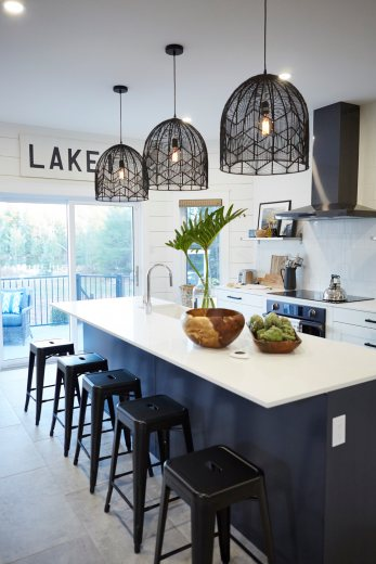 Danielle Bryk Puts Heart Into This Lake House Kitchen Home