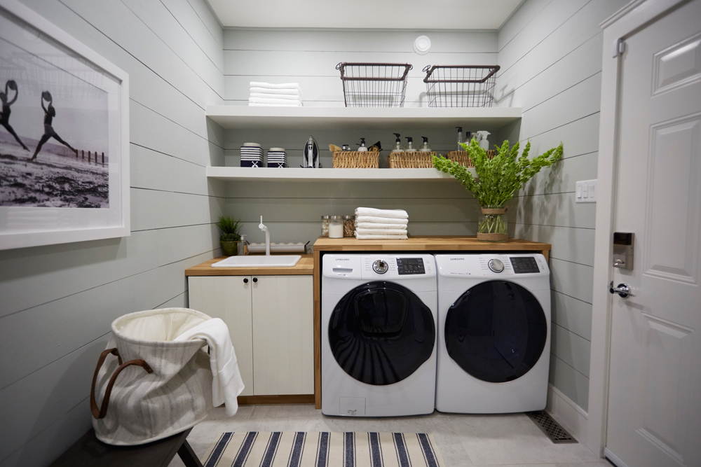 Small Space Laundry Room Layout