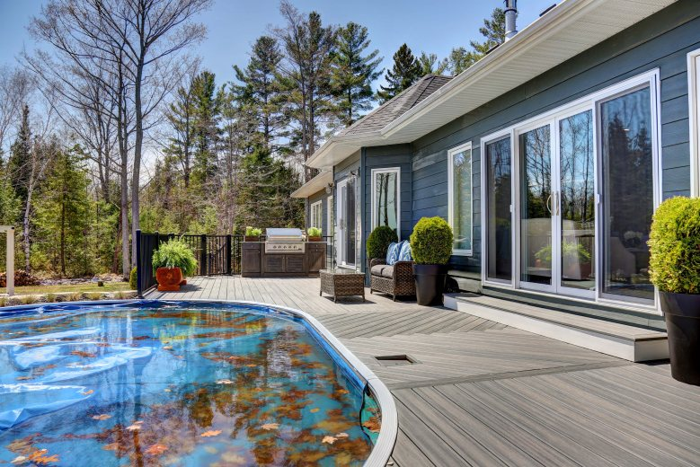Backyard Dreams this is the lakeside backyard dreams are made of - home to win